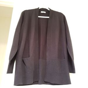 Hampshire Studios black cardigan XL